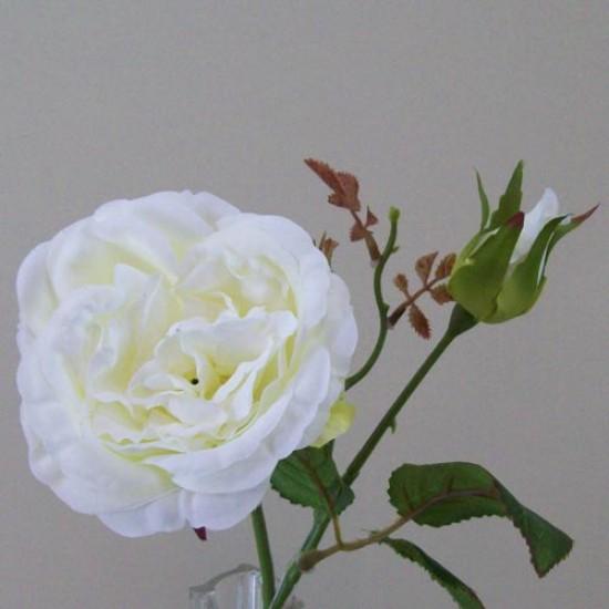 Artificial Cabbage Roses Cream - R425 GG4