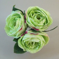 Artificial Cabbage Roses Bundle Green - R667 AA3