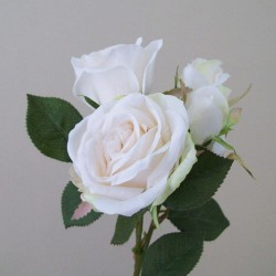 Artificial Avalanche Spray Roses Cream - R507 GG2