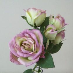 Artificial Memory Lane Spray Roses Lilac - R508 N3