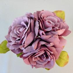 Artificial English Roses Bundle Dusky Pink - R483 S4