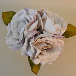Artificial English Roses Bundle Earl Grey - R954 FF4