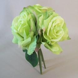 Artificial English Roses Bundle Green - R646 O2