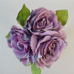 Artificial English Roses Bundle Mauve Pink - R958 R1