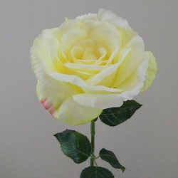 Artificial English Roses Lemon Drop - R415 KK3