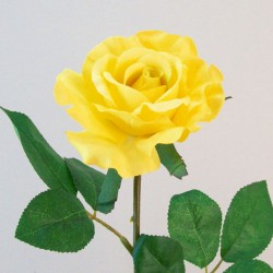 Artificial Premium Roses High Yellow - R532 L4
