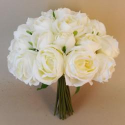 Artificial Roses Bundle Cream 25 Stems - R697 4C