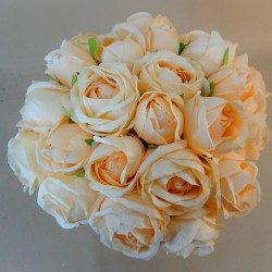 Artificial Roses Bundle Peach 25 Stems - R698 N1