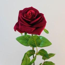 Artificial Rose Red Velvet - R050