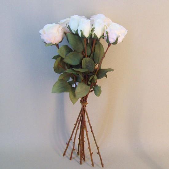 Artificial Roses Bouquet Blush Peach Artificial Flowers