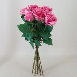 Artificial Roses Bouquet Pink - R489 M1