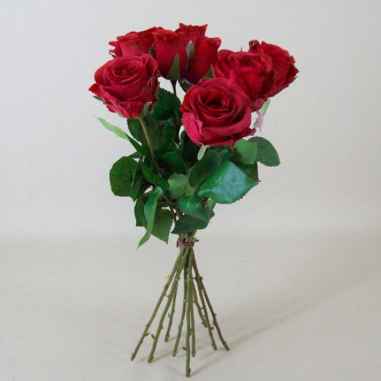 Artificial Roses Bouquet Red - R490 N1