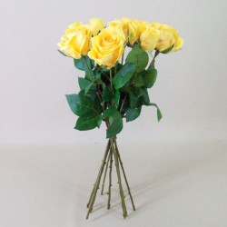 Artificial Roses Bouquet Yellow - R491 N1