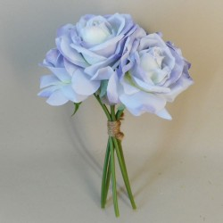 Artificial Roses Bunch Hyacinth Blue - R367 N3