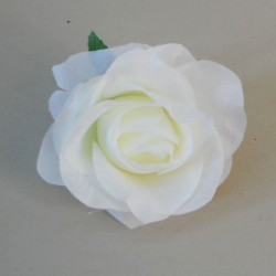 Artificial Roses Cream Heads Only 9cm - R337