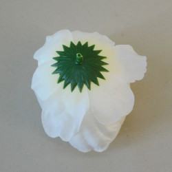 Artificial Roses Cream Heads Only Small - R138 M1