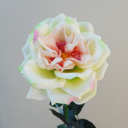 Artificial Roses Gravity Pink Green - R158 LL2
