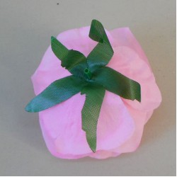 Artificial Roses Pink Heads Only 9cm - R336 P2
