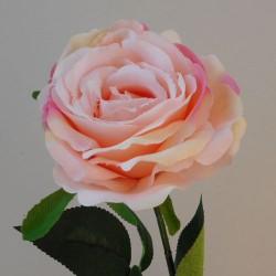 Artificial Rose Pink Peach - R557 N4