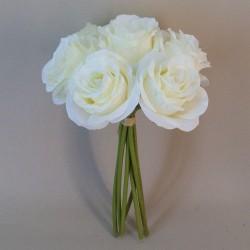 Artificial Roses Posy Cream - R565 P2