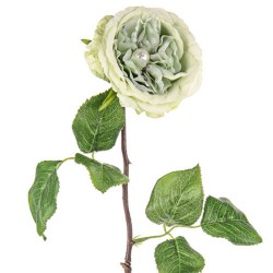 Artificial Roses Sage Green Pearl Wedding - R944 N2