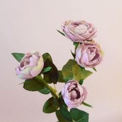 Artificial Roses Spray Amnesia Pink  - R951 R2