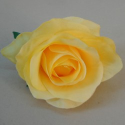 Artificial Roses Yellow Heads Only 9cm - R880 GG3