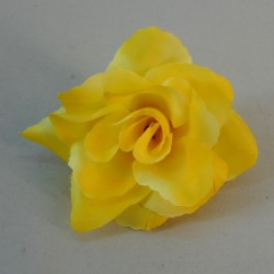 Artificial Roses Yellow Heads Only 8cm - R872 GG3