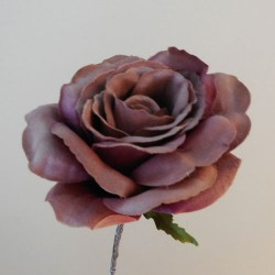Artificial Roses Stem Dusky Pink no leaves - R653 P3