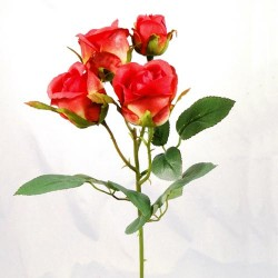 Artificial Spray Roses Red - R431 N2