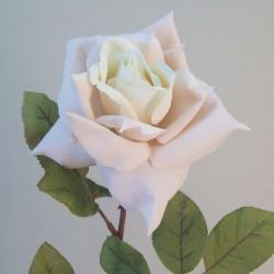 Artificial Tea Rose Blush Peach - R709 O4