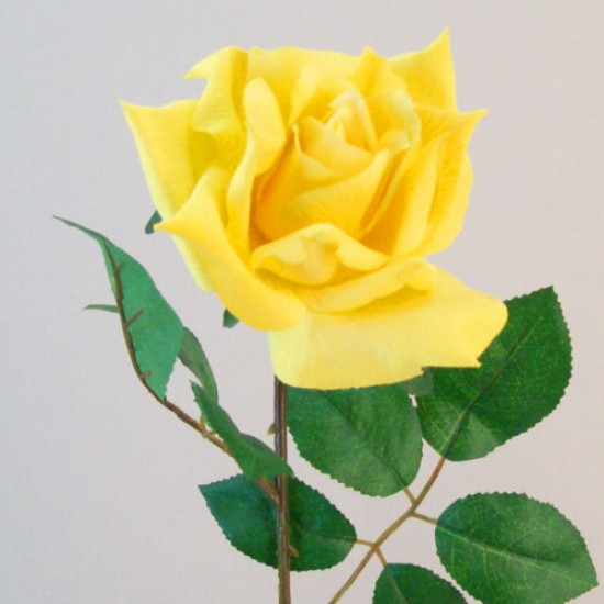 Artificial Tea Rose High Yellow - R530 O4