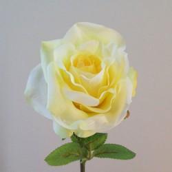 Artificial Tea Roses Lemon Drop - R874 R2