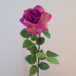 Artificial Tea Roses Magenta Pink - R011 N4