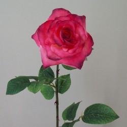 Artificial Tea Roses Mid Pink - R502 KK1