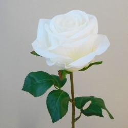 Artificial Rose Carnival Cream Flowers - R106 L2