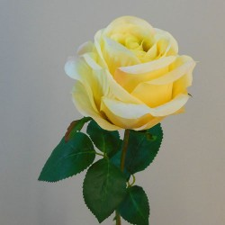 Artificial Rose Carnival Yellow Flowers - R105 L4