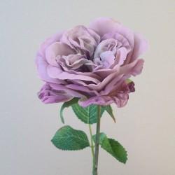Downton Artificial Roses Mauve Purple - R126 O2