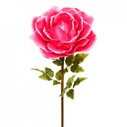 Giant Silk Roses Dark Pink | VM Display Prop - R968 CC