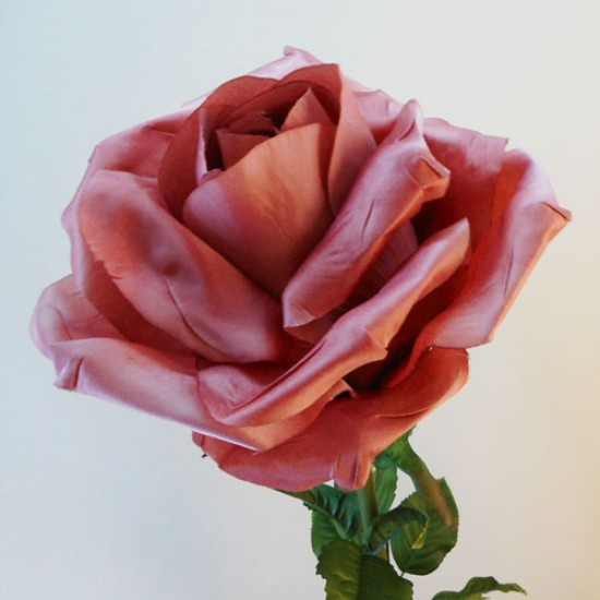 Giant Silk Roses Dusky Pink | VM Display Prop - R966 BB3