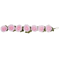 Giant Silk Roses Garland Pink 200cm | VM Display Prop - R962 BB4
