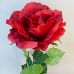 Giant Artificial Rose Red | VM Display Prop - R638 SH