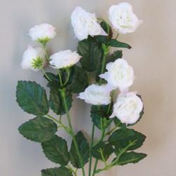 Mini Artificial Wild Roses White - R553 L2