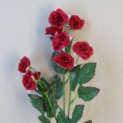 Mini Artificial Wild Roses Red - R552 L2