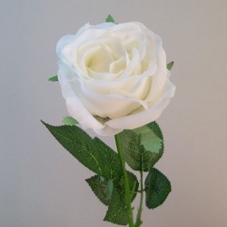 Real Touch Artificial Rose Cream - R855 M4