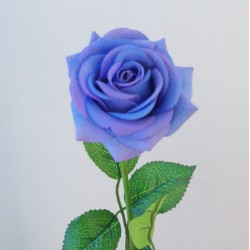 Artificial Roses Real Touch Blue - R500 O2