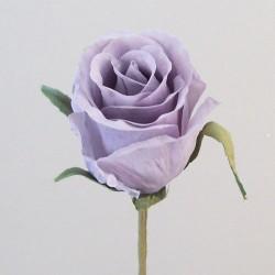 Romance Artificial Rose Bud Lilac - R748 O2