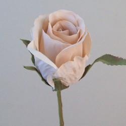 Romance Artificial Rose Bud Nude - R747 O2