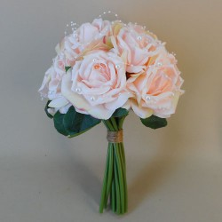 Roses and Pearls Posy Large Blush Pink - R128 BX10
