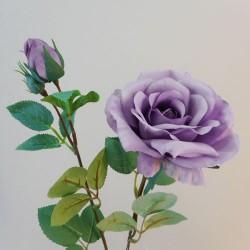 Rydal Artificial Rose Spray Lavender - R111 FF4